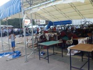 Gazze Protestosu Provakasyon Nedeniyle İptal Edildi