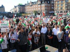 Siyonist İsrail, Danimarka ve İsveç'te Protesto Edildi