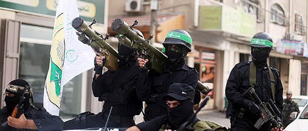 İzzeddin El-Kassam Tugayı, İsrail'e 98 Füze Fırlattı