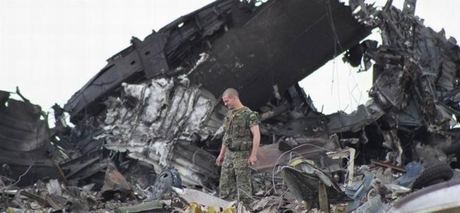 Rusya Ukrayna Uçağını Düşürdü