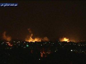 Siyonist İsrail Gazze'ye Karadan Saldırıyor