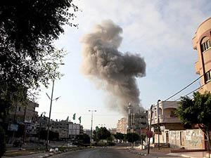 Siyonistler Beyt Hanun Hastanesini Vurdu