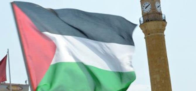 Gazze'deki Katliamlar Çorum'da Protesto Edildi