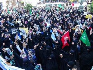 Batman`da Binler Gazze İçin Yürüdü
