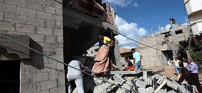 Gazze'de Hayatını Kaybedenlerin Sayısı 309'a Yükseldi