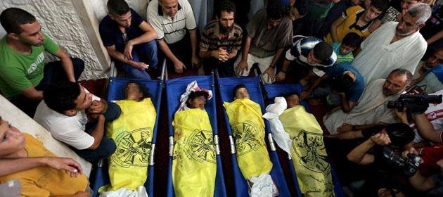 Gazze'de Şehit Sayısı 321'e Yükseldi