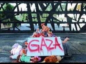 Yahudilerden 'Soykırım Karşıtı' Eylem