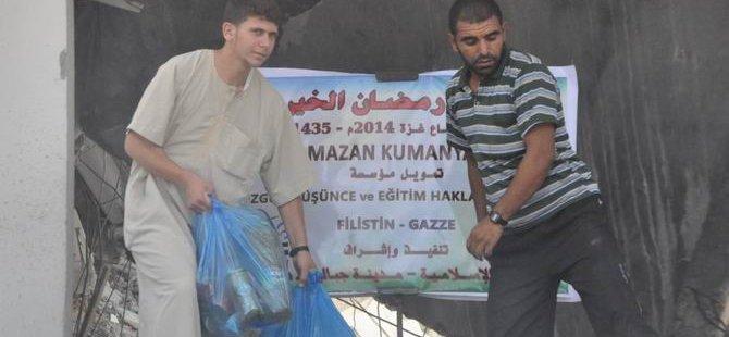 Yardımlarımız Saldırı Altındaki Gazze'de Dağıtılıyor (FOTO)