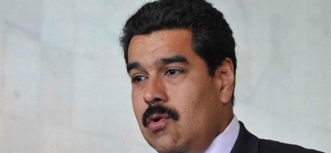 Venezuela Başkanı: Yerin Dibine Batsın Resmi Açıklamalarınız