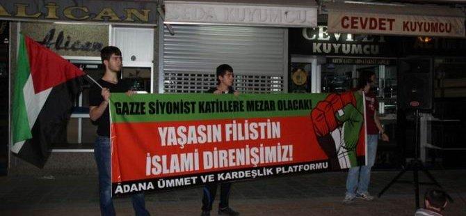 Adana'dan Gazze'ye Destek 2.Gün