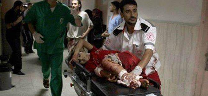 Gazze'de Şehit Sayısı 573'e Yükseldi
