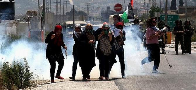 İşgal Güçlerinden Filistinli Kadınlara Müdahale