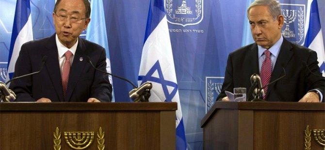 """Ban Ki-mun: """"Gazze Ablukası Kalksın!"""""""