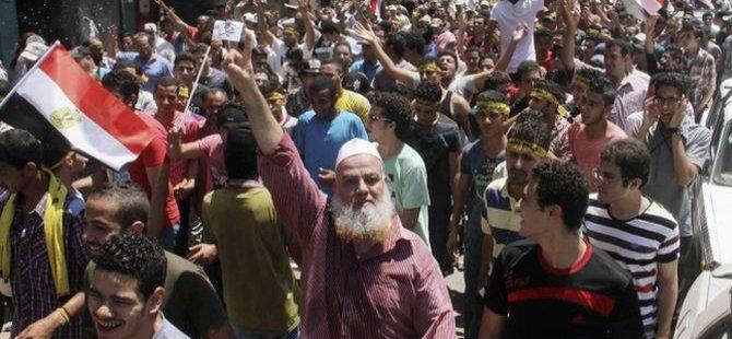 Mısır'da Gazze Protestoları