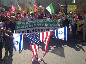 İsrail'in Hamisi ABD, İstanbul'da Telin Edildi (FOTO)