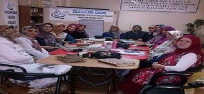Akhisar Özgür-Der'li Hanımlar Ramazan Boyunca Kur'an Okudu