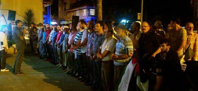 Sapanca Halkı Gazze İçin Ayakta