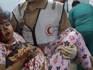Gazze'de Şehit Sayısı 718'e, Yaralı Sayısı 4563'e Çıktı