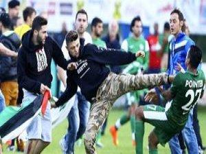 Siyonist İsrail Takımına Filistin Darbesi!