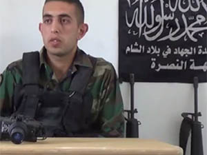 Lübnan Ordusundan Ayrılıp Nusra'ya Katıldı!