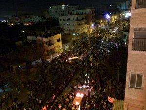 Batı Şeria'da Gazze'ye Destek İçin Onbinler Meydanlarda