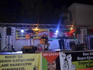 Bingöl'de Gazze Direnişi İle Dayanışma Gecesi