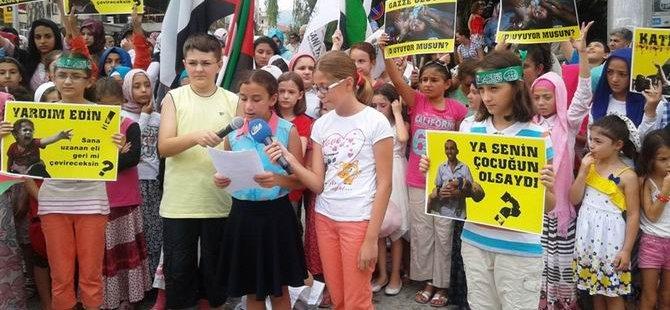 Sapanca'lı Çocuklar Gazze'li Kardeşlerini Unutmadı