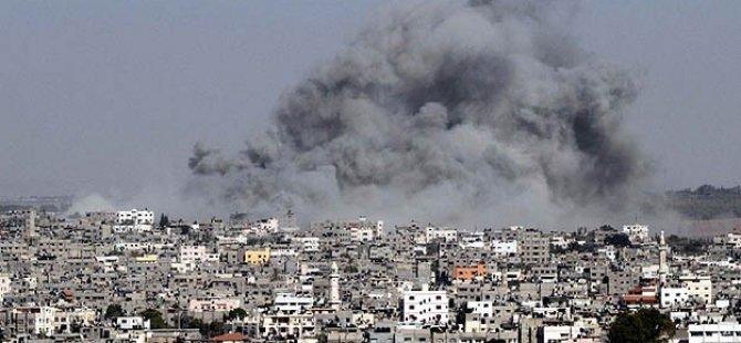 Siyonist Saldırı Altındaki Gazze'de Şehit Sayısı 864'e Yükseldi
