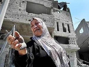 Gazze'de Hayatını Kaybedenlerin Sayısı 1962'ye Yükseldi