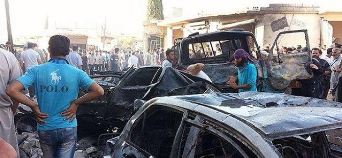 İdlib'de Bomba Yüklü Araçla Saldırı: 40 Ölü