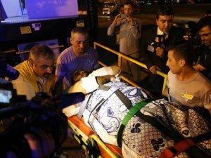 Yaralı Filistinli Türkiye'ye Getirildi