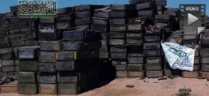 Hama'da Büyük Miktarda Ganimet Ele Geçirildi