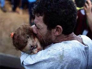 Gazze'de Şehitlerin Sayısı 1.060'a Yükseldi