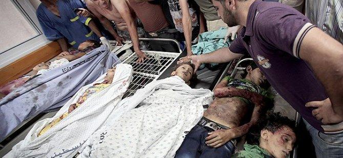 Gazze'de Şehit Sayısı 1.458'e Yükseldi