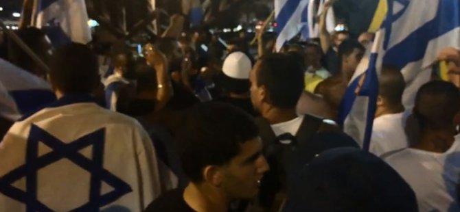 Katledilen Çocuklar İçin Siyonistlerin Sevinç Gösterisi