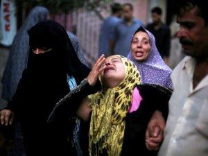 Gazze'de Şehit Sayısı 1283'e Yükseldi
