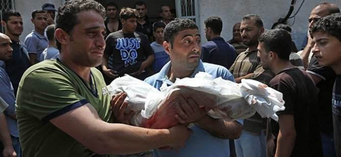 Gazze'de Şehit Sayısı Bin 361'e Yükseldi
