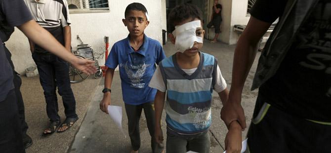 İşgalci İsrail Kız Okulunu da Vurdu