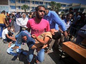Siyonist İsrail Yine BM Okulunu Vurdu