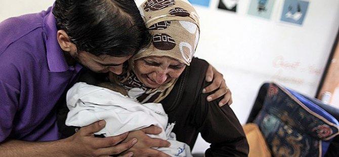 Gazze'de Şehit Sayısı 1.821'e Yükseldi