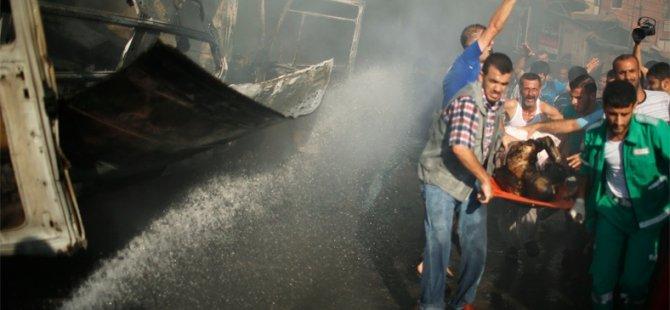 Gazze'de 72 Saatlik Ateşkes Kabul Edildi