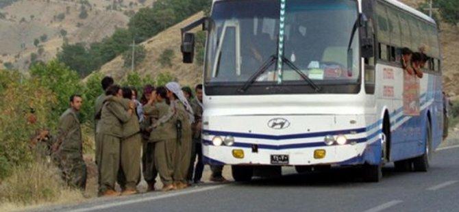 Yüzlerce PKK'lı Sincar'a Gidiyor