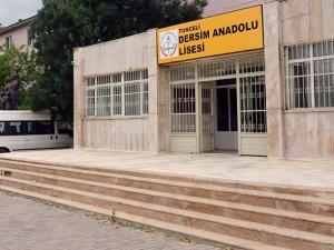 Devlet Okuluna 'Dersim' Adı Verildi