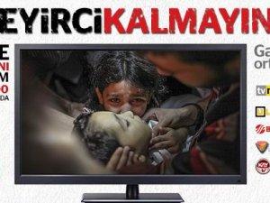 Gazze'ye Yardım İçin 3 Saatlik Canlı Yayın