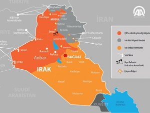 IŞİD Erbil'e 45 Kilometre Yaklaştı