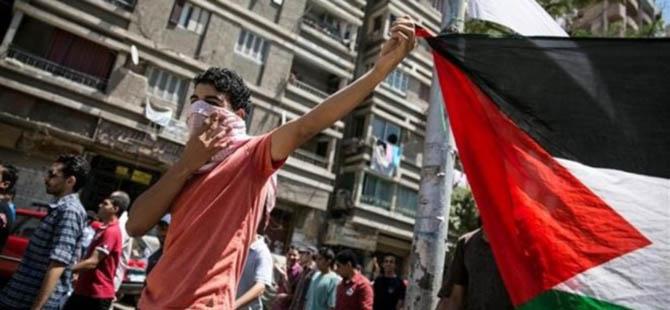 Mısır Polisi Gazze Mitingini Taradı