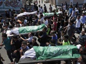 Siyonist İsrail Cibaliya Mülteci Kampını Vurdu