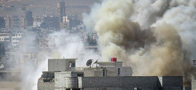 Esed'den Haseki Merkezine İlk Hava Saldırısı: 11 Ölü