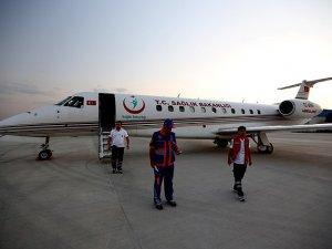 Hava Ambulansı Yaralı Gazzelileri Almaya Gitti