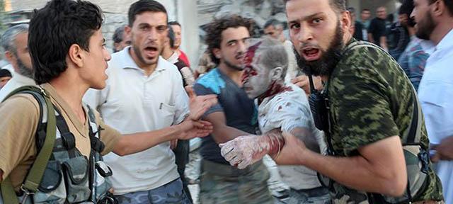 Esed, Dün Suriye'de 91 Kardeşimizi Katletti